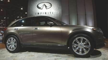 日产无限展出最新款SUV FX45 附图
