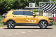 10月新车比价 大众T-Cross途铠成都8.6折起