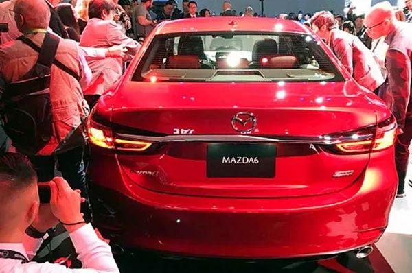 """马自达如今也带""""T""""了!新款阿特兹表态洛杉矶车展"""