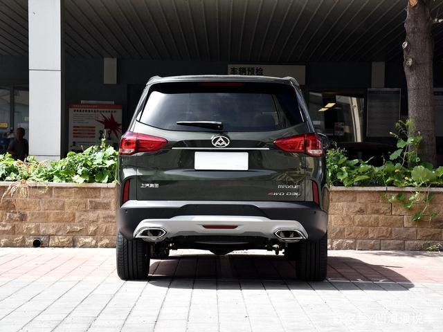 比普拉多还霸气的SUV,车长5米拥有224马力,仅15万