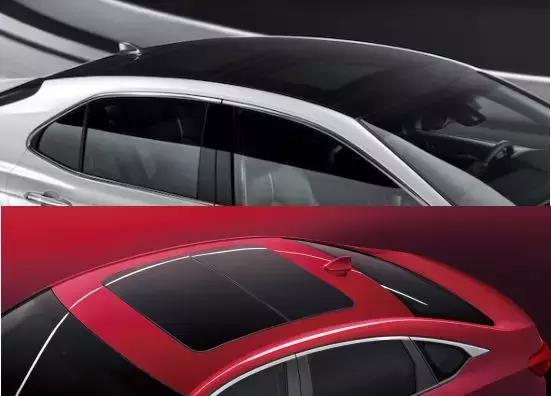 上图上方是凯美瑞配备全景天窗车型的车顶,下方是其他配备全景天窗中级车的车顶 而作为对比,绝大部分同样装备了全景天窗的中级车,却不会对细节如此考究,绌跨潃瑁呮壆依然像普通天窗一样处理,难免会像一个补丁而显得突兀。 此外,中控、排挡饰板采用独特工艺,触摸光滑平整但视觉上却又能呈现出三维立体感;再配合前排10方向电动调节座椅,后排椅背电动调节等先进功能,都让第八代凯美瑞在豪华感的营造上直逼雷克萨斯。 除此以外,包括HUD抬头显示、大尺寸中控、仪表盘的三屏互动在凸显科技感的同时,也大幅提升了行驶中的安全性与便捷