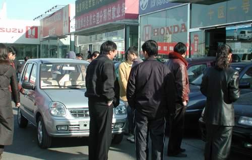 调整价格后的秦川福莱尔日销售30余辆 附图高清图片