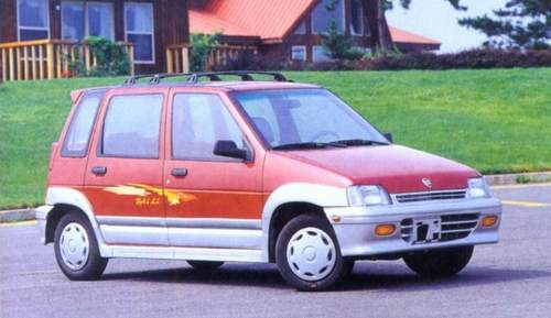 松花江百利的前身就是韩国大宇的tico车型,采用日本90年代中高清图片