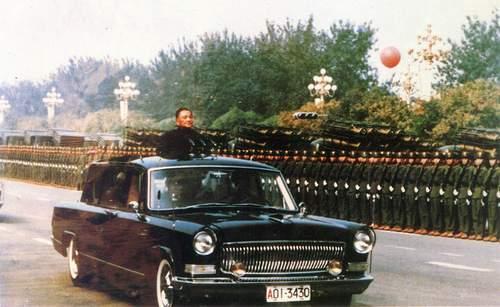 中华民族自己品牌的轿车 红旗老轿车